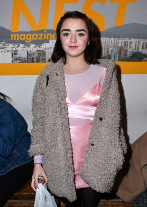 Maisie Williams - Nest Magazine Launch Party in London