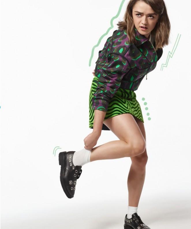 Maisie Williams - Nylon Magazine (May 2016)