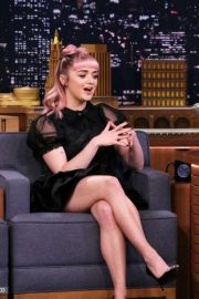 Maisie Williams - On 'The Late Show with Jimmy Fallon' in NYC