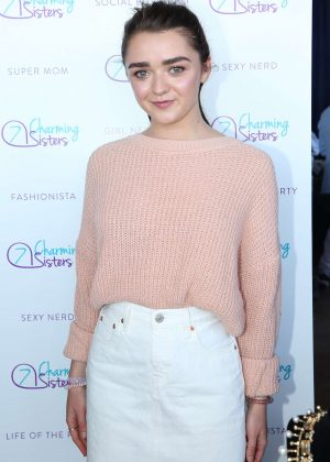 Maisie Williams - PILOT PEN & GBK's Pre-Emmy Luxury Lounge in Beverly Hills
