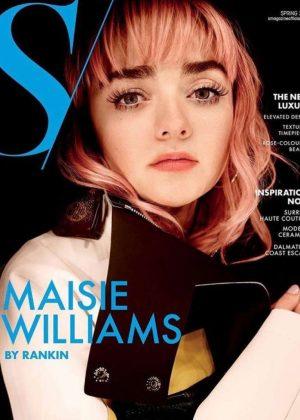 Maisie Williams - Rankin for S Magazine Cover (April 2019)