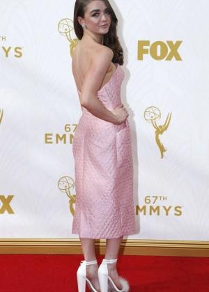 Maisie Williams - 2015 Emmy Awards in LA