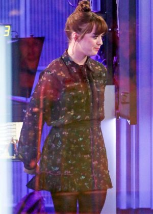 Maisie Williams - Visit BBC The One Show in London