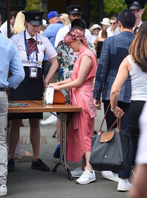 Maisie Williams – Wimbledon Tennis Championships 2019-12
