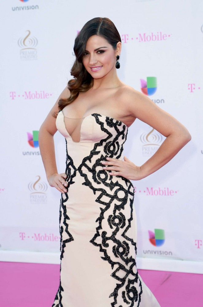 Maite Perroni wears  (Maxi Dress )