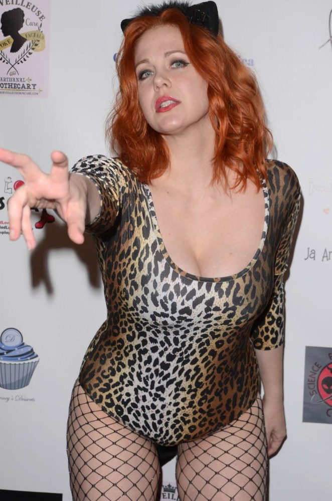 Maitland Ward at Halloween Hotness 4: Heating Up For The Cure in Hollywood