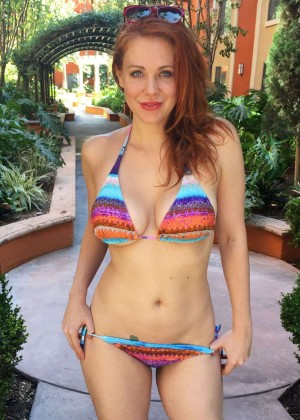 Maitland Ward - Bikini Photoshoot in Malibu