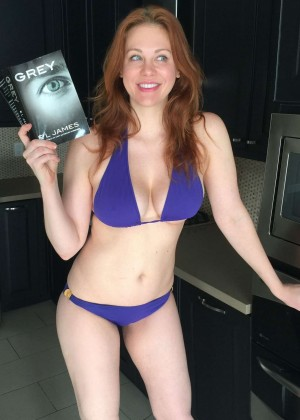 Maitland Ward - Bikini Photoshoot to celebrate the release of 'Grey' in Los Angeles