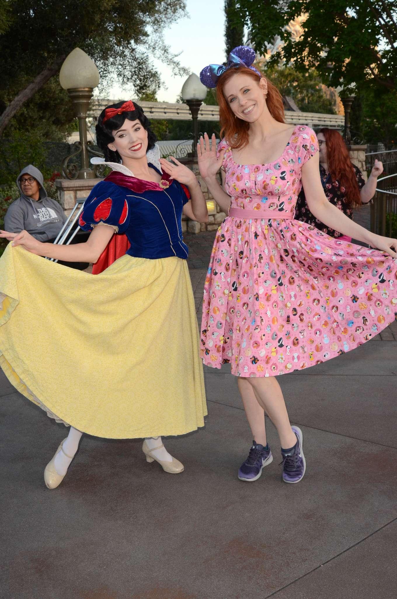 Maitland Ward 2019 : Maitland Ward: Celebrating International Star Wars Day at Disneyland -11