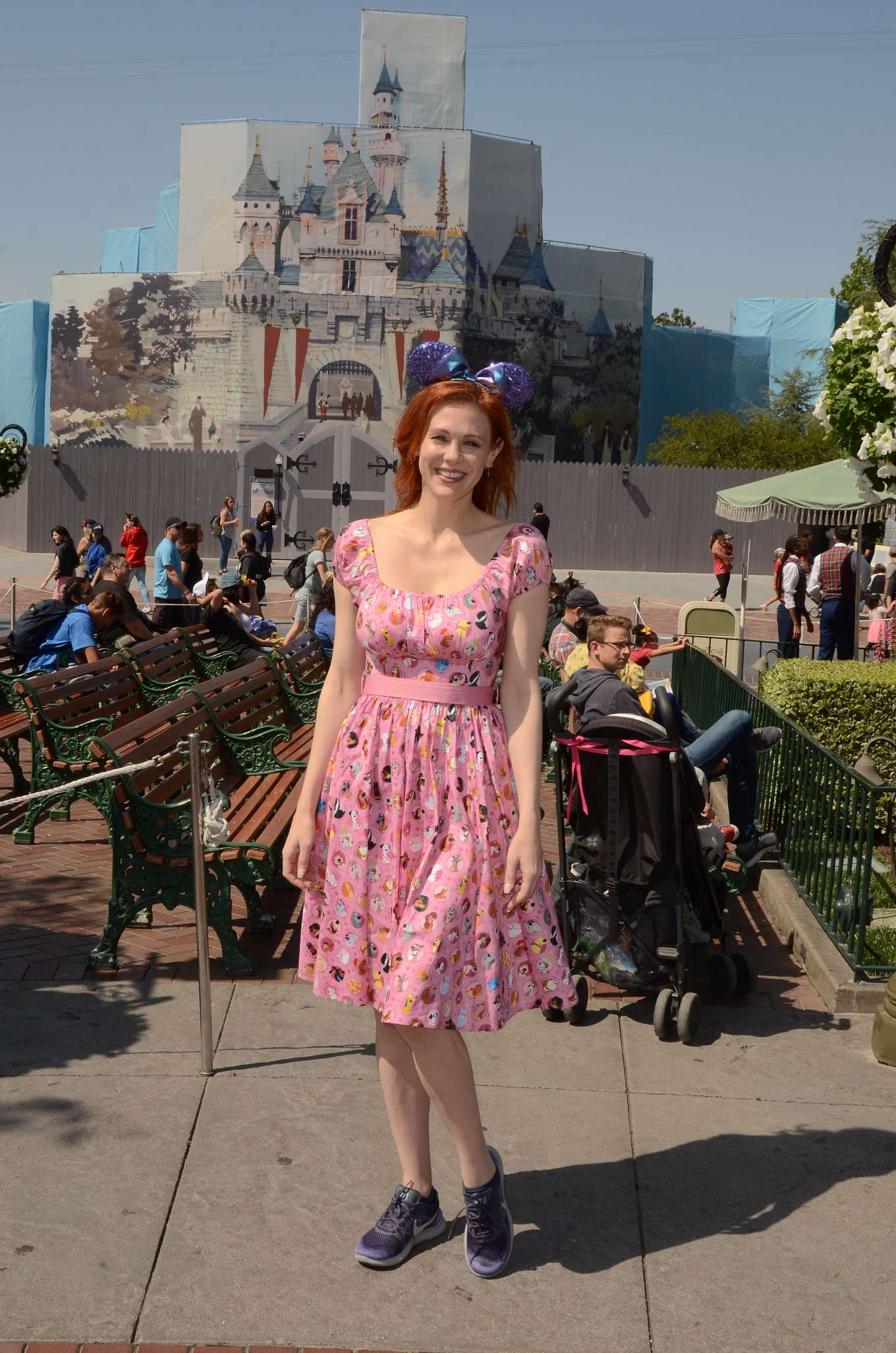 Maitland Ward 2019 : Maitland Ward: Celebrating International Star Wars Day at Disneyland -15