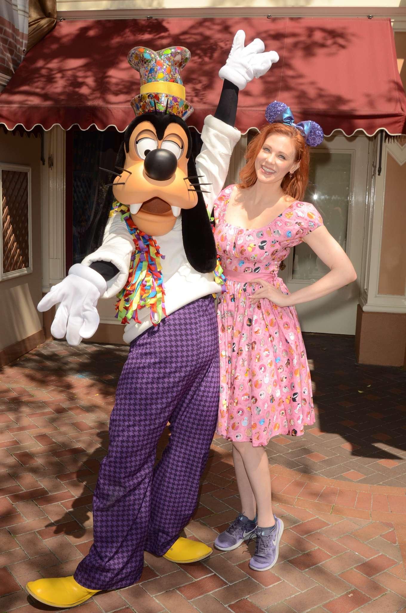 Maitland Ward: Celebrating International Star Wars Day at Disneyland -21