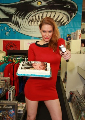 Maitland Ward - Hosts a Celebration of Captain Kirk's Birthday in LA