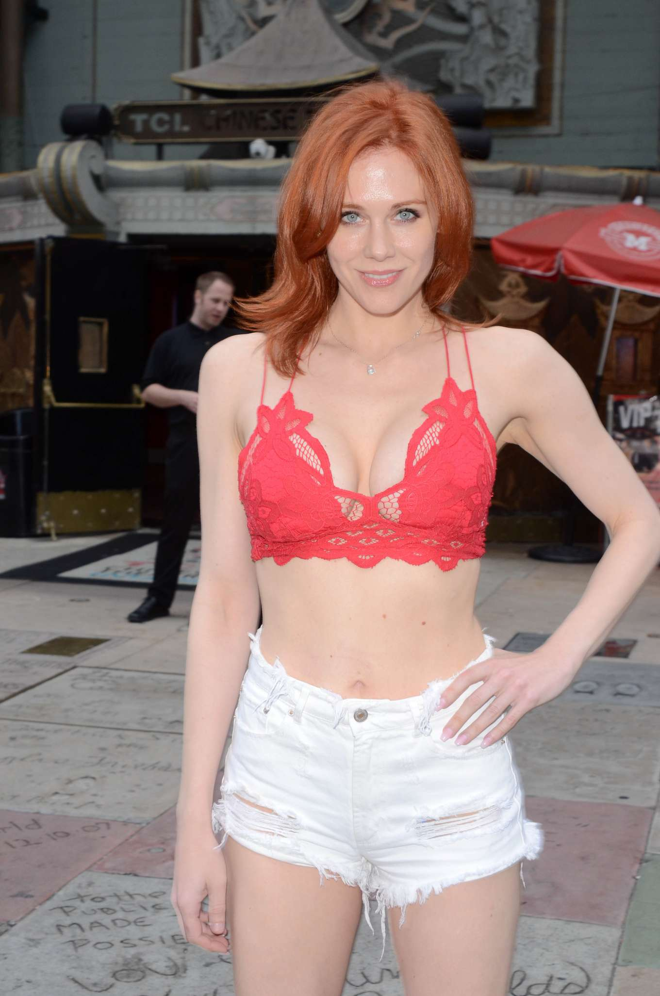 Maitland Ward in Shorts - Out in Hollywood