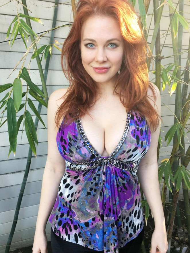 Maitland Ward out in Marina Del Rey
