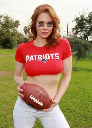 Maitland Ward: Super Bowl Photoshoot 2015 -37
