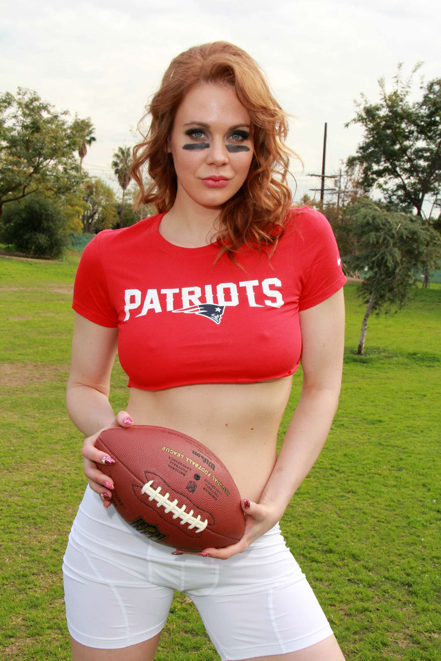 Maitland Ward: Super Bowl Photoshoot 2015 -37