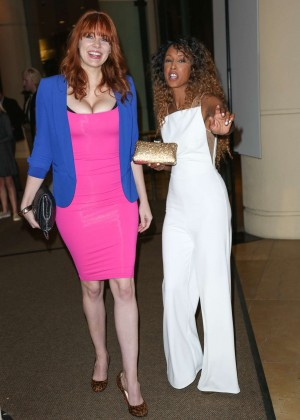 Maitland Ward & Trina McGee - Night out in Beverly Hills