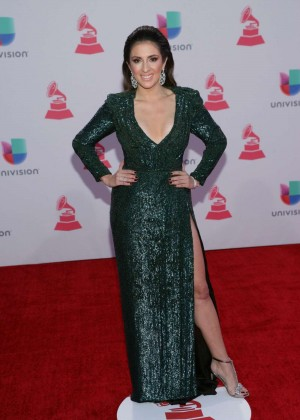 Maity Interiano - 2015 Latin Grammy Awards in Las Vegas