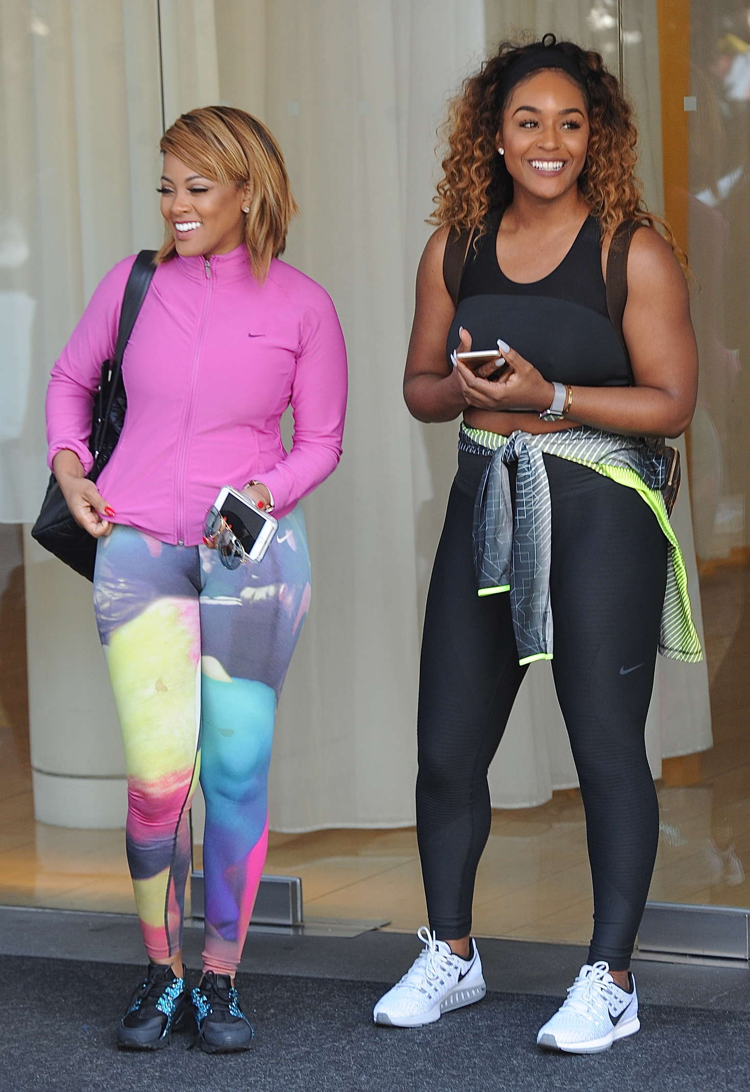 Malaysia Pargo and Brandi Maxiell in Tights out in West ...