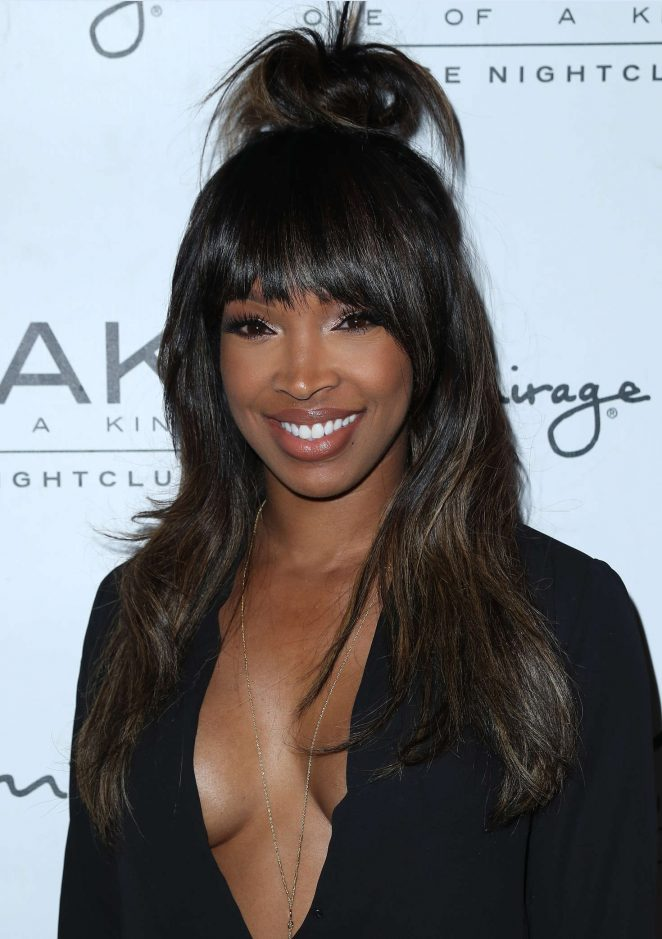 Malika Haqq at Scott Disick Birthday in Las Vegas
