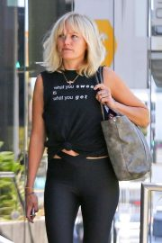 Malin Akerman - Arriving at the gym in West Hollywood