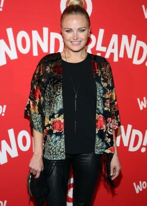 Malin Akerman At Target Wonderland Vip Party Kick Off In New York