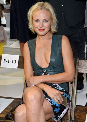 Malin Akerman - Diane Von Furstenberg Fashion Show Spring 2016 NYFW in NYC