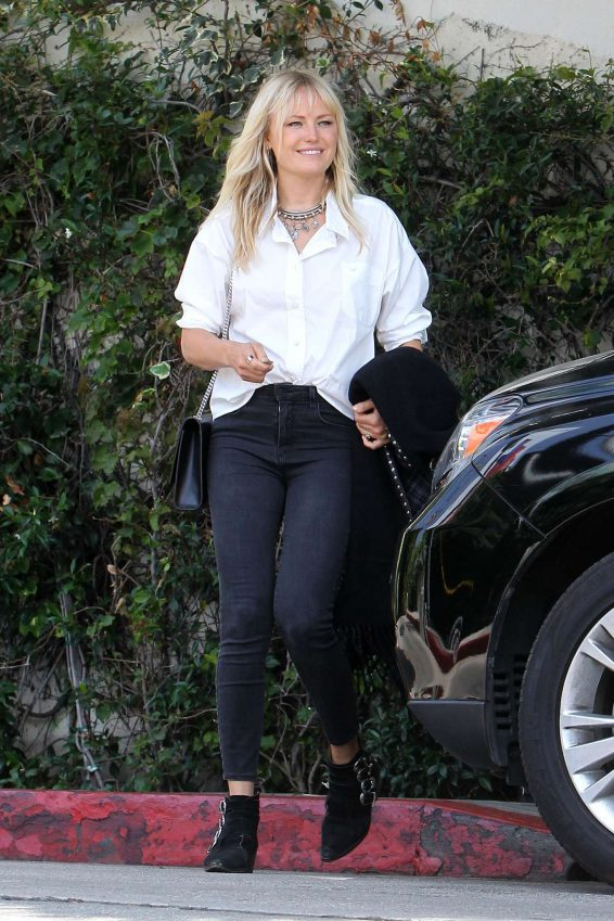 Malin Akerman - Leaves the Chateau Marmont in Los Angeles