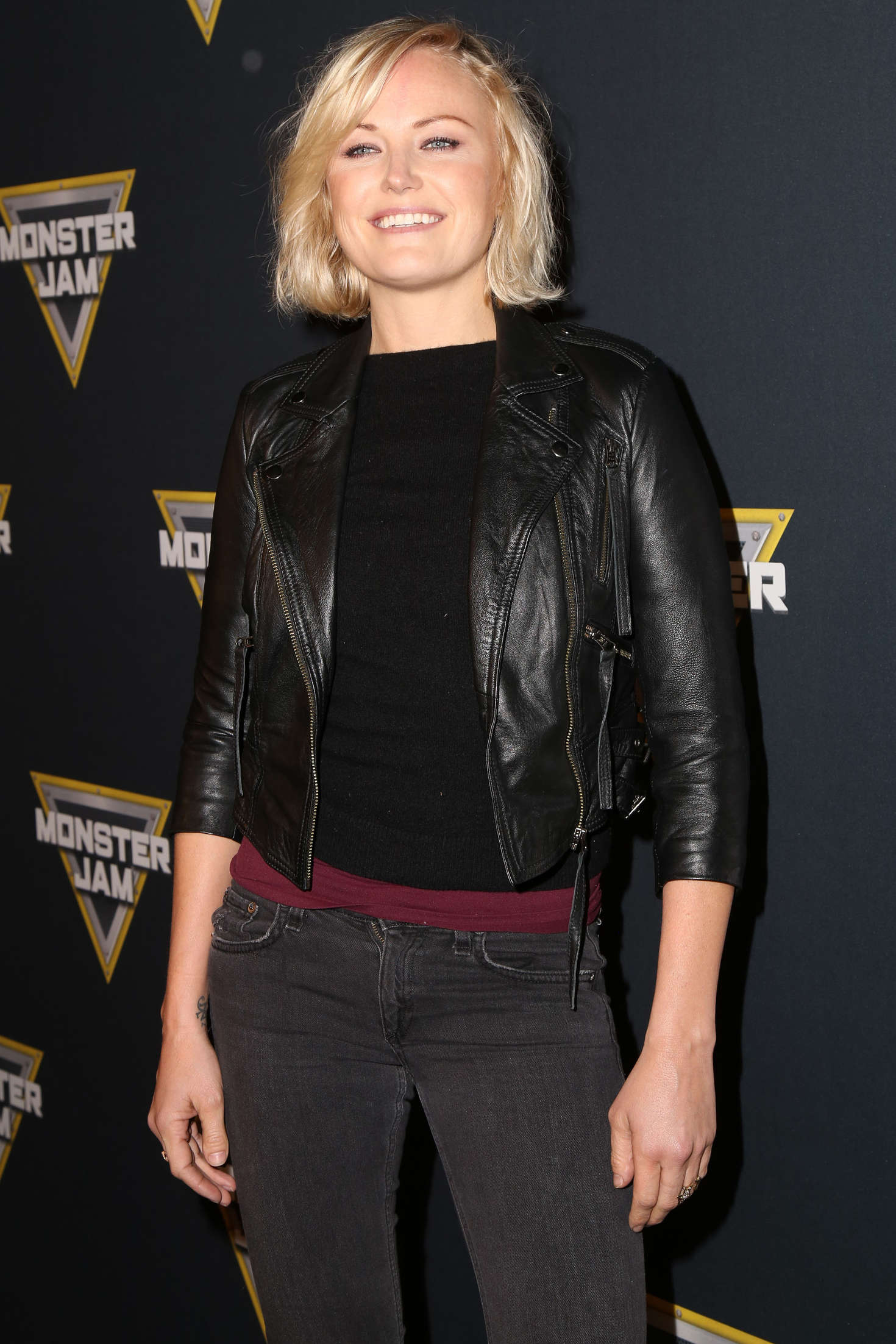 Malin Akerman – Monster Jam Celebrity Night at the Angels ... Malin Akerman