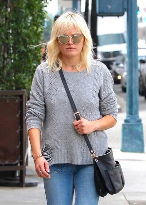 Malin Akerman out in Beverly Hills