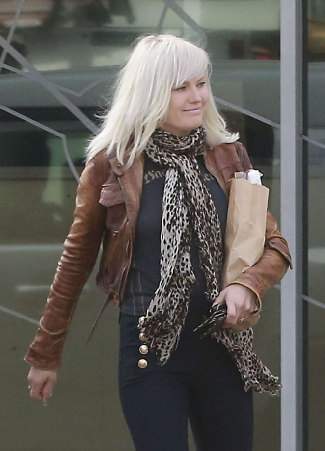 Malin Akerman out in Silver Lake
