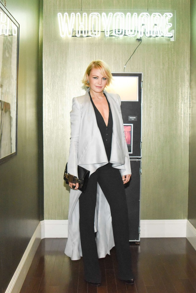 Malin Akerman - Preview of The Residency at 'WHOYOUARE' in Los Angeles