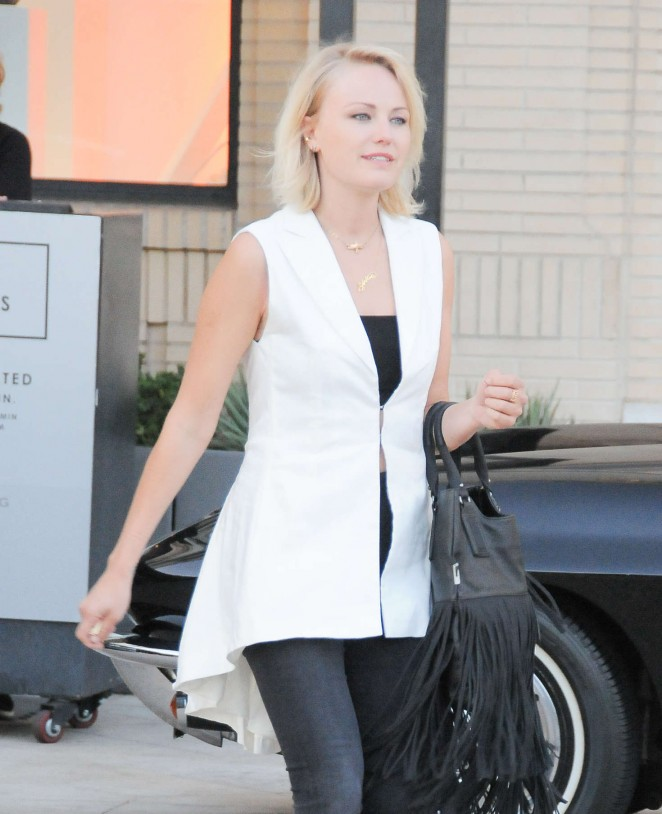 Malin Akerman - Shopping at Barney's NY in Beverly Hills