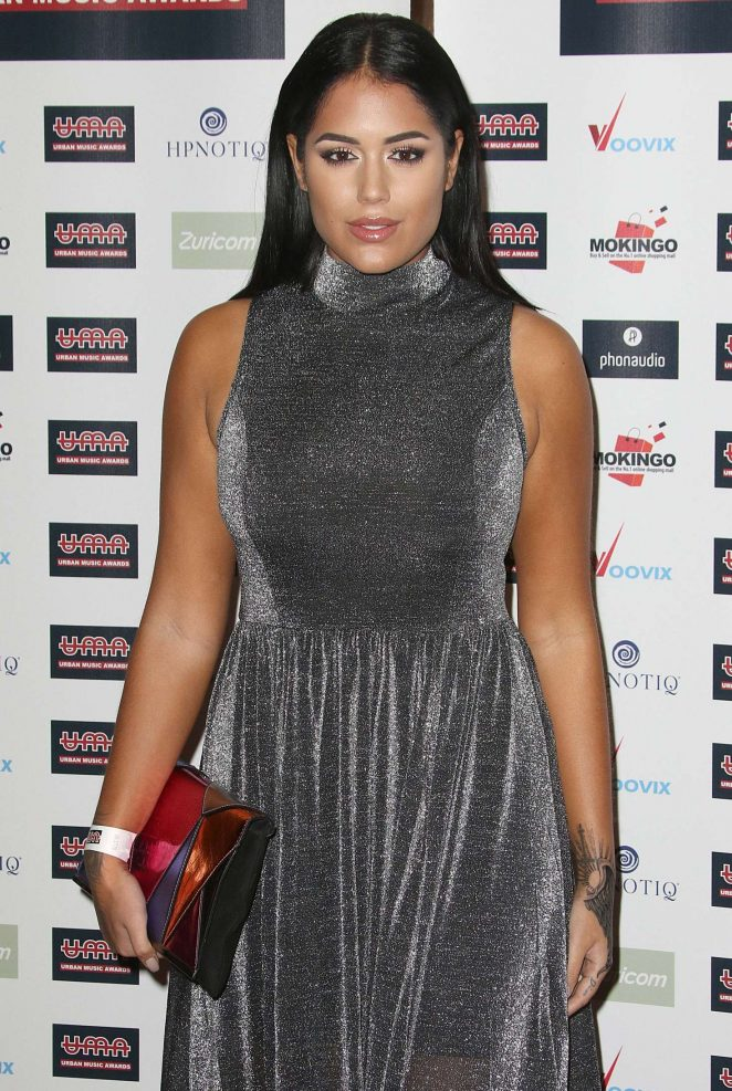 Malin Andersson - Urban Music Awards 2016 in London
