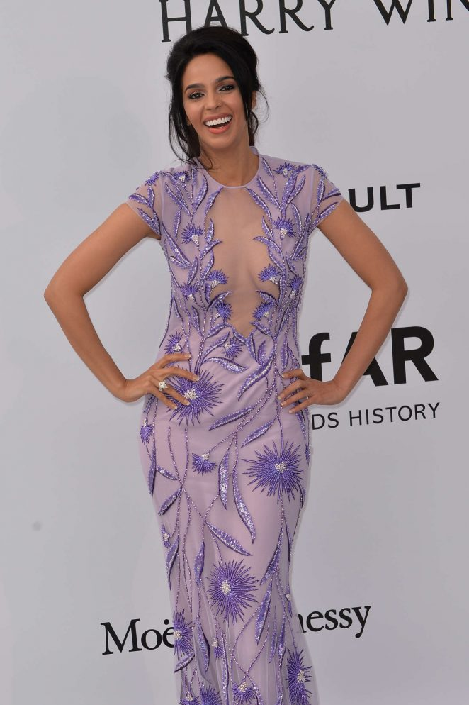Mallika Sherawat - amfAR's 23rd Cinema Against AIDS Gala in Antibes
