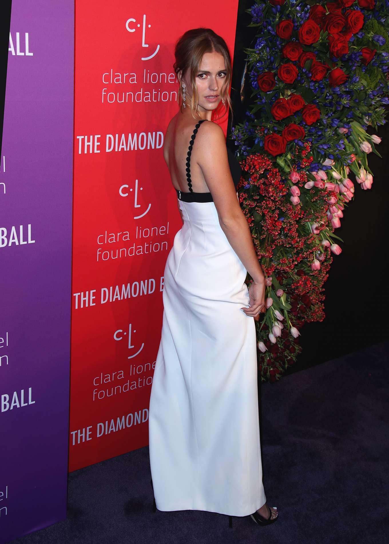 Mallory Edens 2019 : Mallory Edens – Rihannas 5th Annual Diamond Ball-08