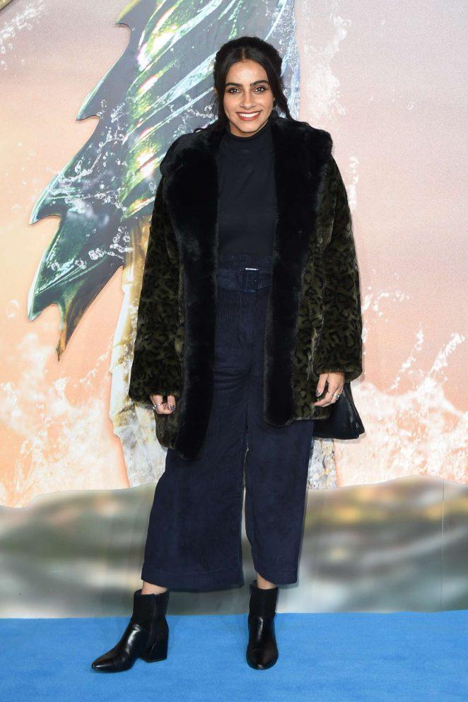 Mandip Gill – 'Aquaman' Premiere in London