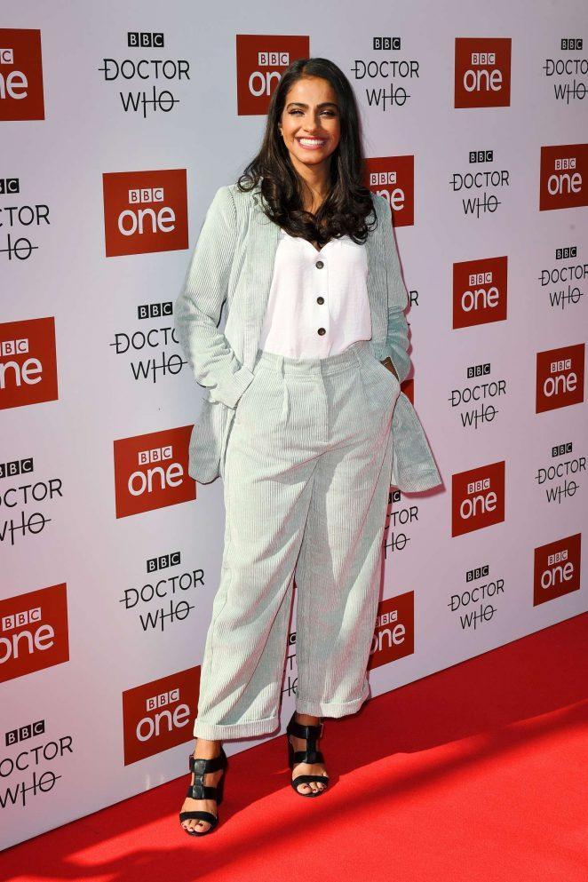 Mandip Gill – 'Doctor Who' TV Show Season 11 Premiere in Sheffield