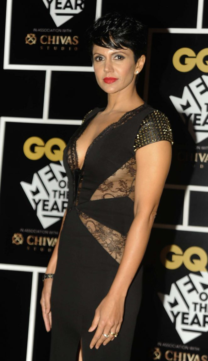 Mandira Bedi - GQ India's Men of the Year Awards 2016 in Mumbai