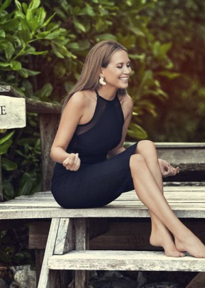 "Mandy Capristo - ""Deutschland sucht den Superstar"" Season 12 Promoshoot in Thailand"