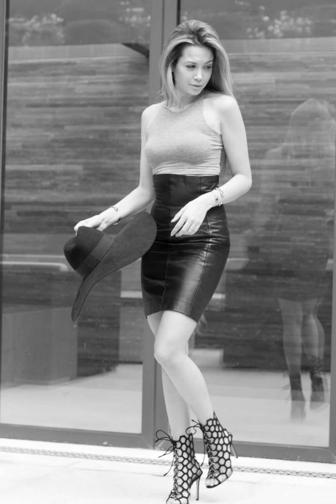 Mandy Capristo - Oliver Baker Photoshoot 2014