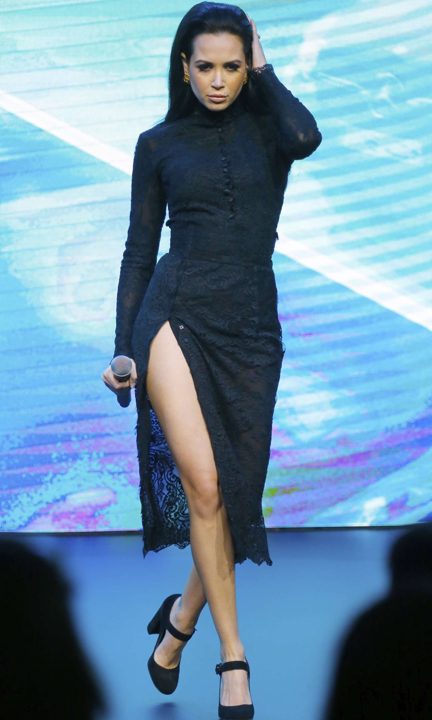 Mandy Capristo - Performs at the Mercedes-Benz New GLC Launch in New York City