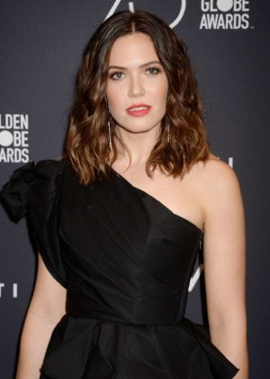Mandy Moore - 2017 HFPA and InStyle Golden Globe Season in LA