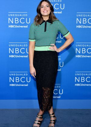 Mandy Moore - 2017 NBCUniversal Upfront Presentation in New York