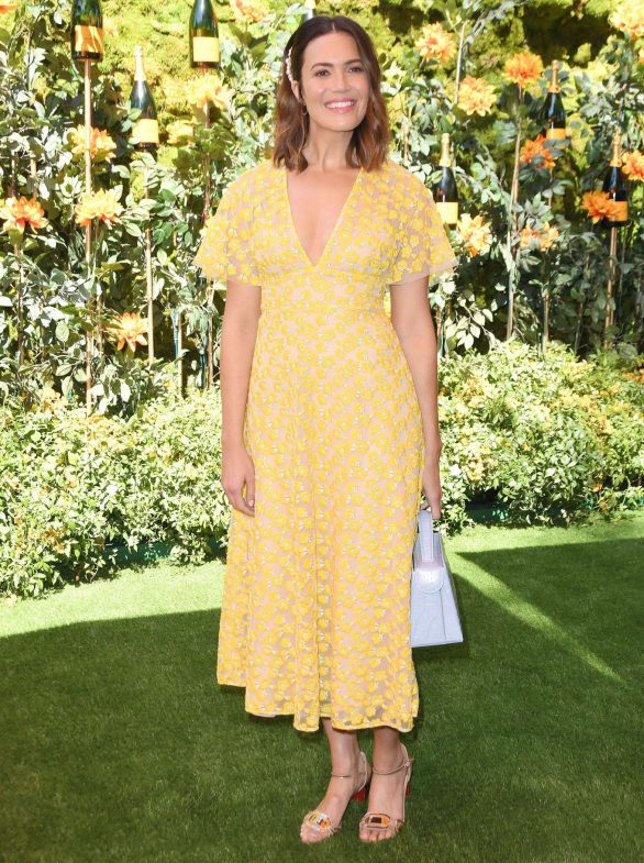 Mandy Moore - 2019 Veuve Clicquot Polo Classic in Los Angeles