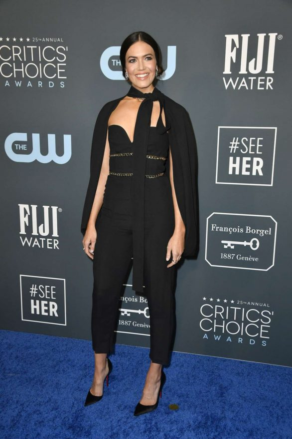 Mandy Moore - 2020 Critics Choice Awards in Santa Monica