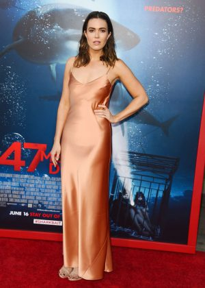 Mandy Moore - '47 Meters Down' Premiere in Los Angeles