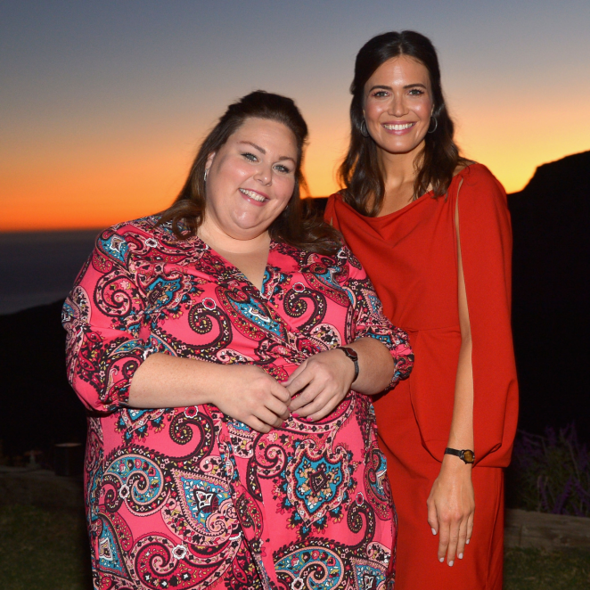 Mandy Moore and Chrissy Metz - Mandy Moore x Fossil Private Dinner in Malibu