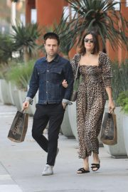 Mandy Moore and Taylor Goldsmith - Leaving Erewhon Market in West Hollywood