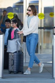 Mandy Moore - Arrives at JFK Airport in New York City